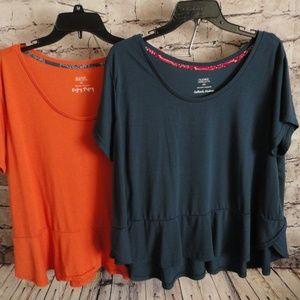 Gilligan & O'Malley Peplum T-Shirt - Women's 2X